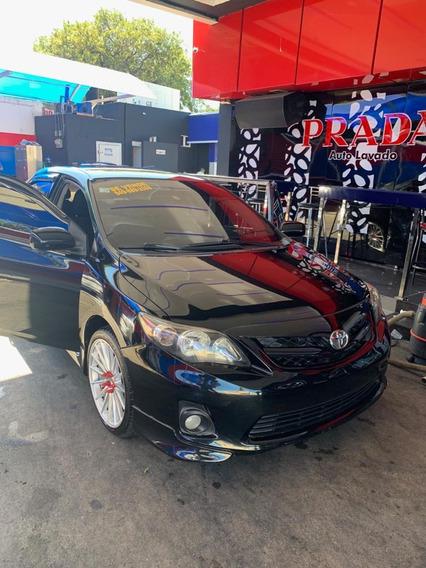 Toyota Corolla S Año 2013 Color Negro