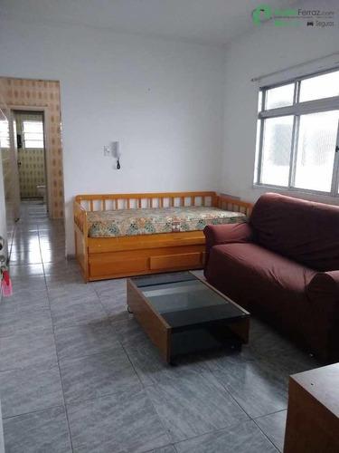 Imagem 1 de 8 de Apartamento 1 Dormitório No Bairro Jardim Independência Em São Vicente. - 2482