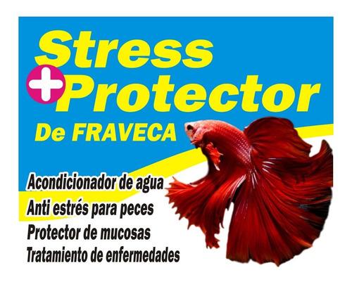 Acondicionar De Agua Stress Protector Acuarios Peceras
