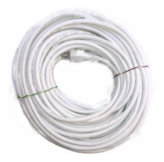 Cable Red 20 Metros Cat5e Utp Rj45 Ethernet 100% Cobre