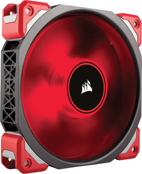 Fan Cooler Corsair Ml120 Pro Led, Red, 120mm Premium Magneti