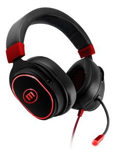 Auriculares Gaming Headset Samurai Maxell Usb/vibration Ofer