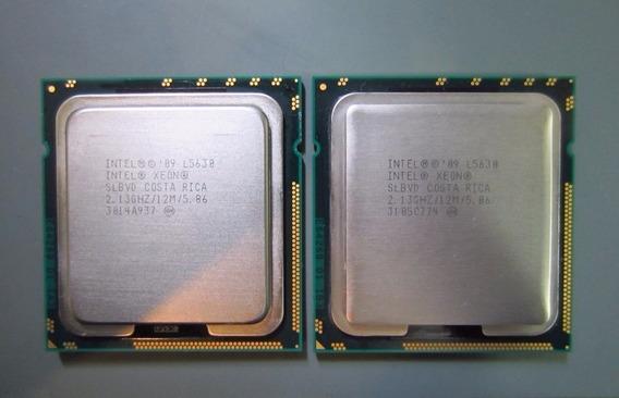 Kit 2 Processador Xeon L5630 Lga1366 P/ Servidor Ibm/dell/hp