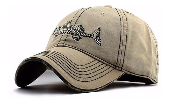 Gorras Caps Fish Esqueleto / Skull Importadas Exclusivas