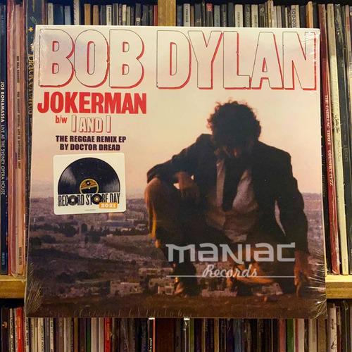 Imagen 1 de 2 de Bob Dylan Jokerman / I Am I Remixes Vinilo 12 Pulgadas