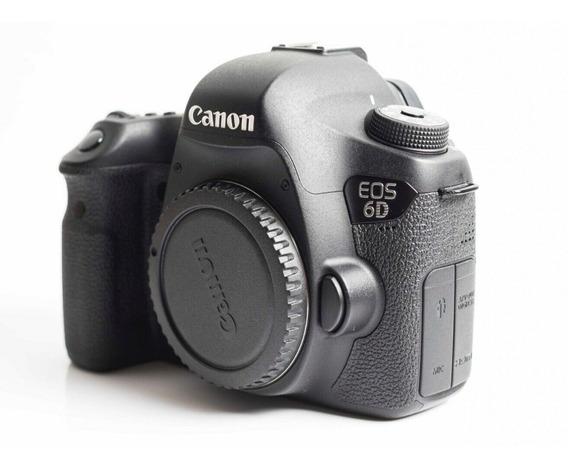 Canon Eos 6d Wg. Novinha. 12k Clicks