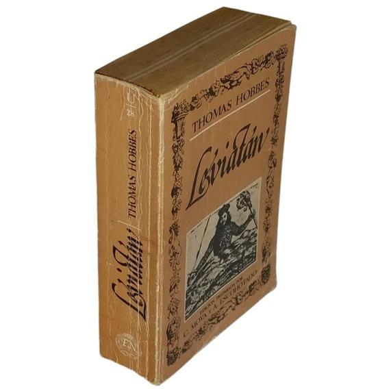Leviatán - Thomas Hobbes - Espanhol (usado 1983)