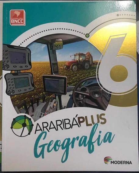 Livro Araribá Plus Geografia 6