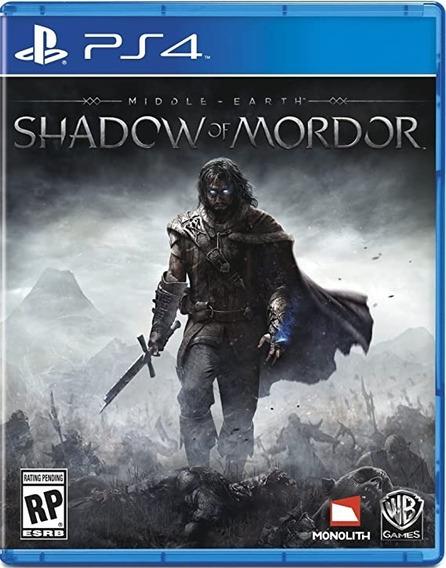 Ps4 - Shadow Of Mordor - Jogo Original - Semi Novo