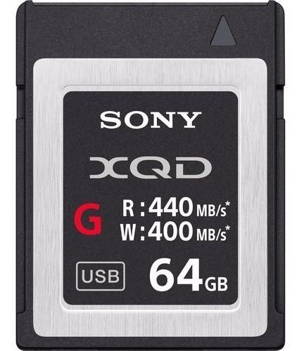 Cartão De Memoria Xqd Sony 64gb Serie G 440mbs