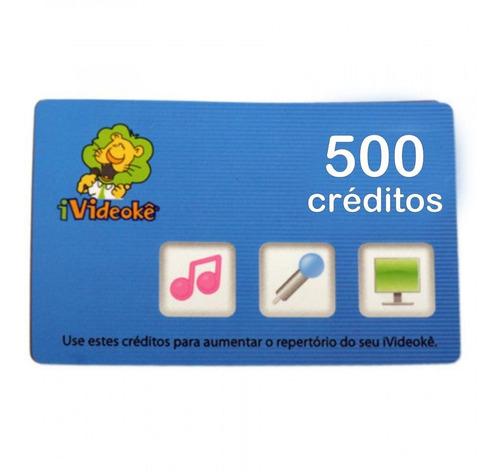 Videokê Cartão 500 Créditos
