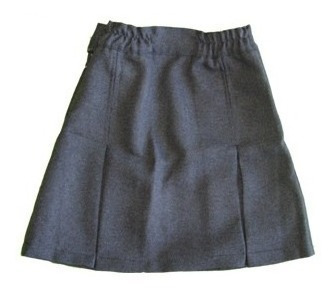 Pollera-pantalón (mod. 2 Tablas) Azzurra - Talles De Niño