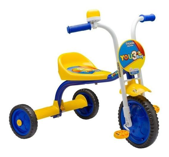 Triciclo Infantil Menino/menina Com Buzina You 3 Nathor