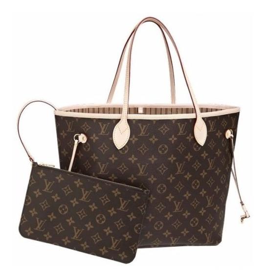 Louis Vuitton Neverfull Mm Brown