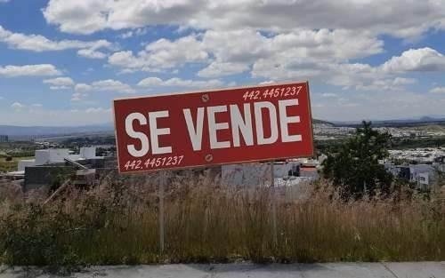 Precioso Terreno En Lomas De Juriquilla - 250 M2 - 1er Secc, Hermosa Vista !!