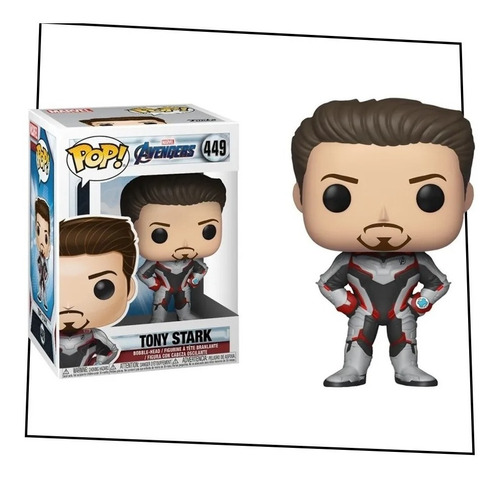 Funko Pop Avengers Endgame Tony Stark 449  Nuevo