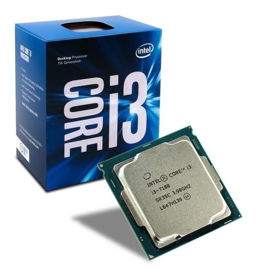 Kit Processador Intel Core I3 7100 3.90ghz E Memora Ram 4gb