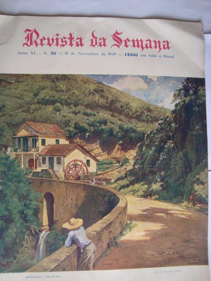 Revista Da Semana Nov 1939 Atualidade Música Cinema Rádio