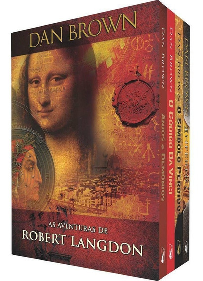 Box Dan Brown - As Aventuras De Robert Langdon 4 Livros