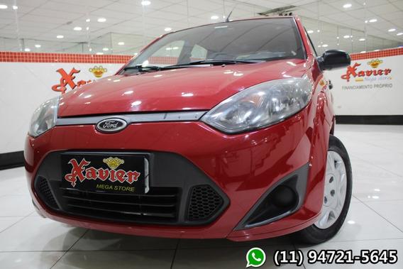 Fiesta Hatch 1.0 Vermelho 2013 Financiamento Próprio 3h56