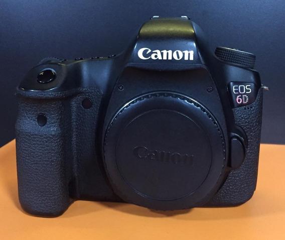 Câmera Dslr Canon Eos 6d - Somente O Corpo -