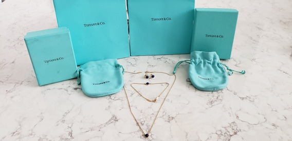 Juego Tiffany & Co Aretes Pulsera Y Collar Elsa Peretti Tous