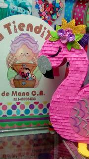 Piñata Flamenco Flamingo Tropical - La Tiendita De Mana
