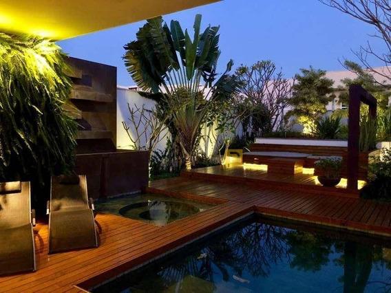 Casa Com 6 Dormitórios À Venda, 700 M² Por R$ 4.200.000,00 - Condomínio Terras Do Imperador - Americana/sp - Ca0431
