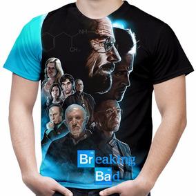 Camiseta Masculina Serie Breaking Bad Md04