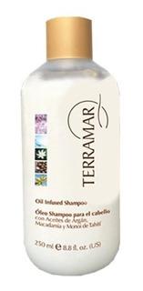 Shampoo Con Argan, Macadamia Y Monohi De Tahiti Terramar