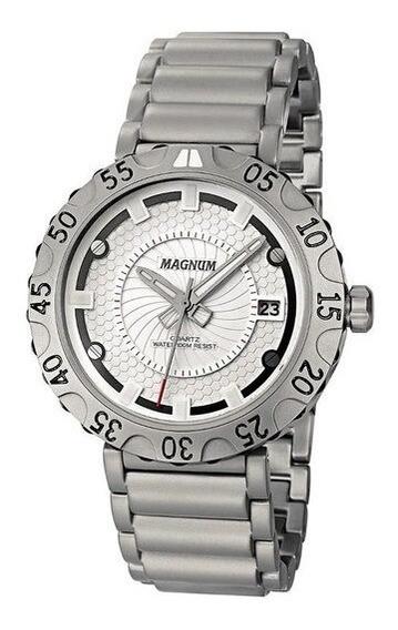 Relógio Magnum Masculino - Ma32550w - Prata