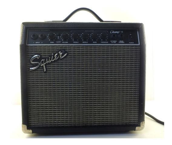 Amplificador Guitarra Fender Squier Pr-408 120v 10 Watts De Potência Overdrive Com Seletor Saída Para Headphones A11162