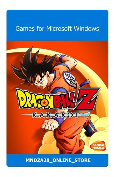 Videojuego Dragon Ball Z Kakarot Para Pc En Físico