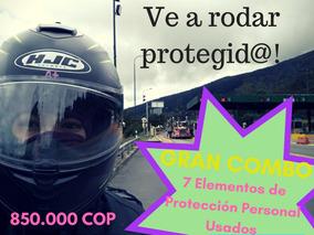 Gran Combo De Elementos De Protección Personal Para Motocicl