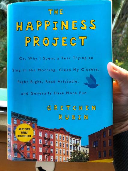 Livro The Happiness Project Gretchen Rubin
