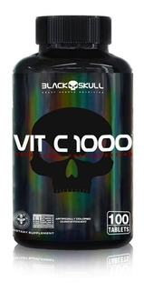 Vitamina C 1000® Da Black Skull Usa 100 Cápsulas