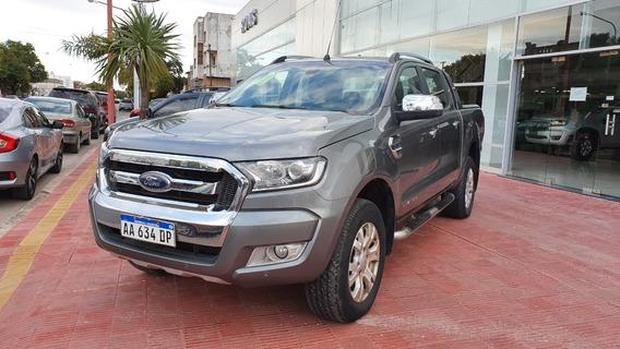 Ford Ranger 3.2 4x4 Ltd At Negro 2016 110.000 Km Roas