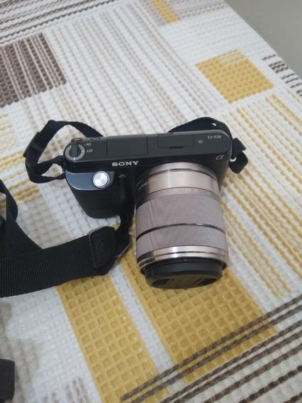 Câmera Sony Nex F3 - Duas Lentes (18-55) E (55-210)
