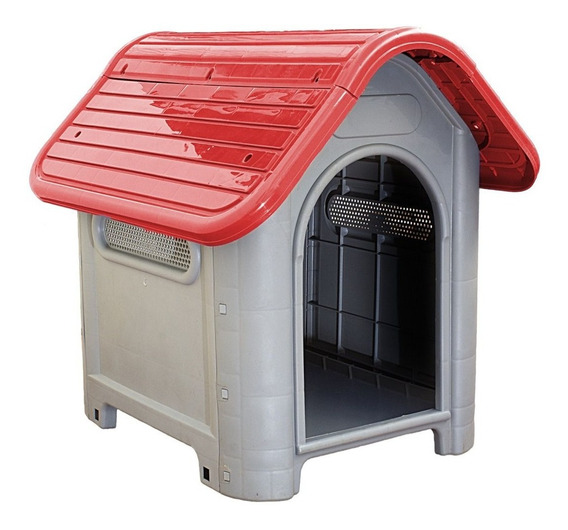 Casinha Cachorro Cães Mec Pet Em Plástico Nº 3 Varias Cores