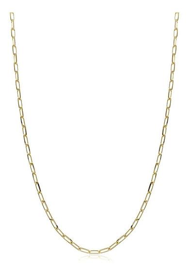 Corrente Banhada A Ouro 18k 70cm 4,5mm 17g Cartier C/gar. 03