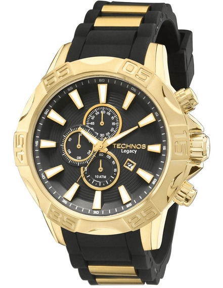 Relógio Masculino Technos Legacy Dourado Os10ew/8p