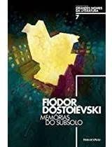 Livro Memórias Do Subsolo Fiódor Dostoiévski