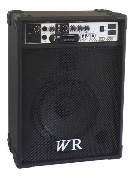 Caixa De Som Amplificada Bluet Microfone/guitarra/teclado