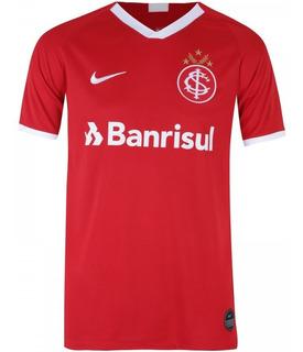 Camisa Internacional S/n 2019 Novo Brasão Futebol Brasileiro