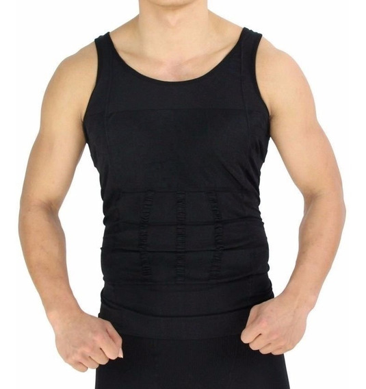 Camisa Cinta Modeladora Unissex Tira Barriga Pochete Emagrec