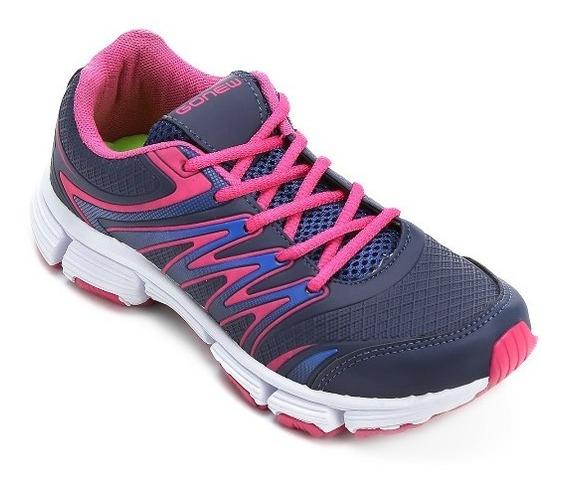 Calçado Feminino Tênis Ideal P/ Prática De Sport Frete Gráti