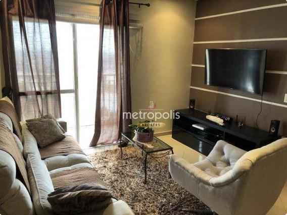 Apartamento Com 3 Dormitórios Para Alugar, 80 M² Por R$ 1.850,00/mês - Barcelona - São Caetano Do Sul/sp - Ap2587