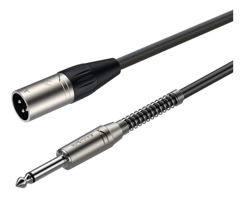 Cable Roxtone Plug Mn - Xlr Macho 1 Metro Smxj250l1