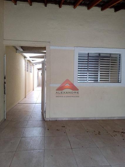 Casa Com 3 Dormitórios Para Alugar, 85 M² Por R$ 850/mês - Parque Nova Esperança - São José Dos Campos/sp - Ca4434