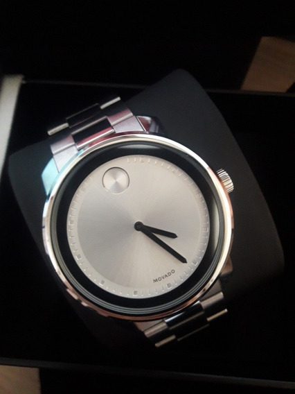 Relógio Movado Classic Steel Original